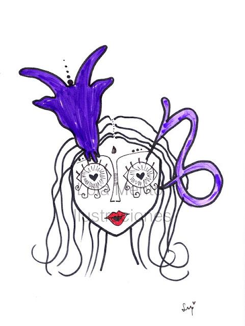 ilustraciones lolamento, ilustraciones lola mento, lola mento ilustraciones, lolamento ilustraciones, LolaMento, Lola Mento, Lola Mento signos, capricornio
