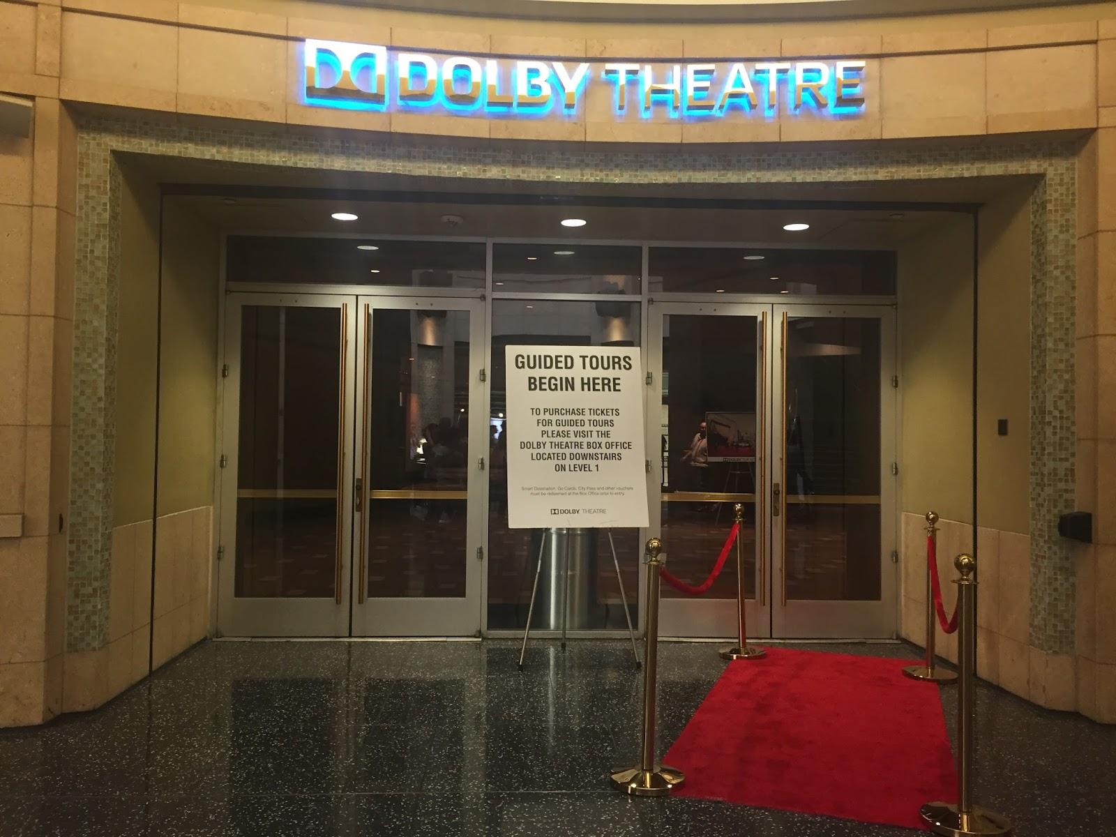 USA états unis amérique vacance transat roadtrip ouest américain holliwood boulevard dolby theatre