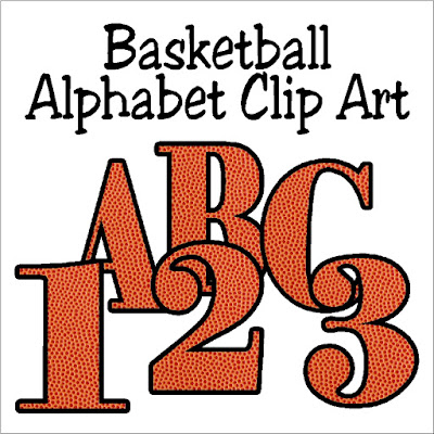 Decorate your favorite basketball scrap book pages or your basketball party printables with this fun Basketball alphabet. Each letter is filled with a background of the orange basketball and dimples to bring the basketball right into your projects.