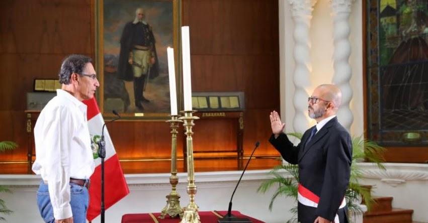 MINSA: Víctor Marcial Zamora Mesía juramentó como nuevo Ministro de Salud [Hoja de Vida] www.minsa.gob.pe
