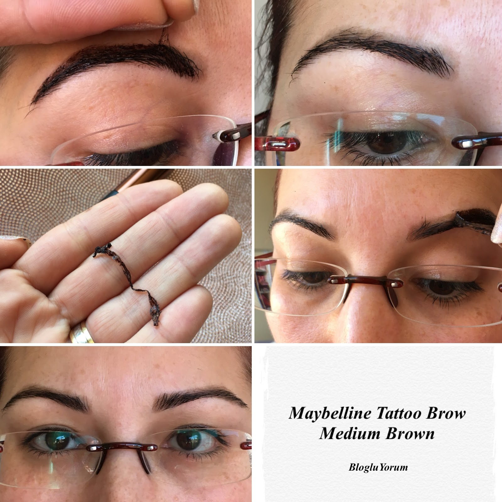 Maybelline tattoo brow gel tint medium brown ncelemes for Maybeline tattoo brow