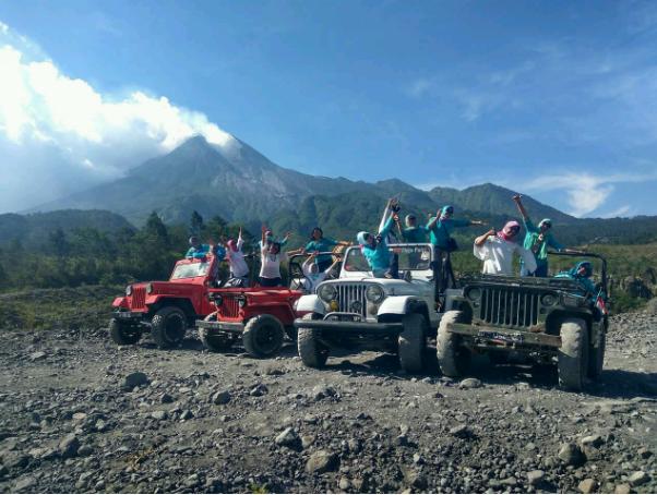 Lava tour wisata favorit Kaliadem Sleman Jogjakarta
