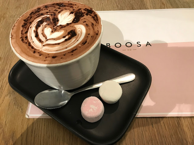 Boosa, Bentleigh East, hot chocolate