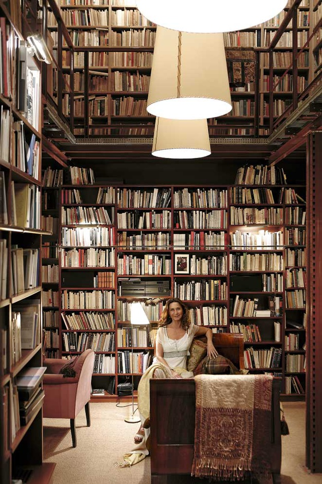 Amazing Home Libraries: Sanctuary: B Is For