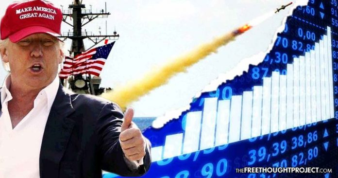 Trump Owned Stock in The Company He Just Helped Make a Billion Overnight by Bombing Syria
