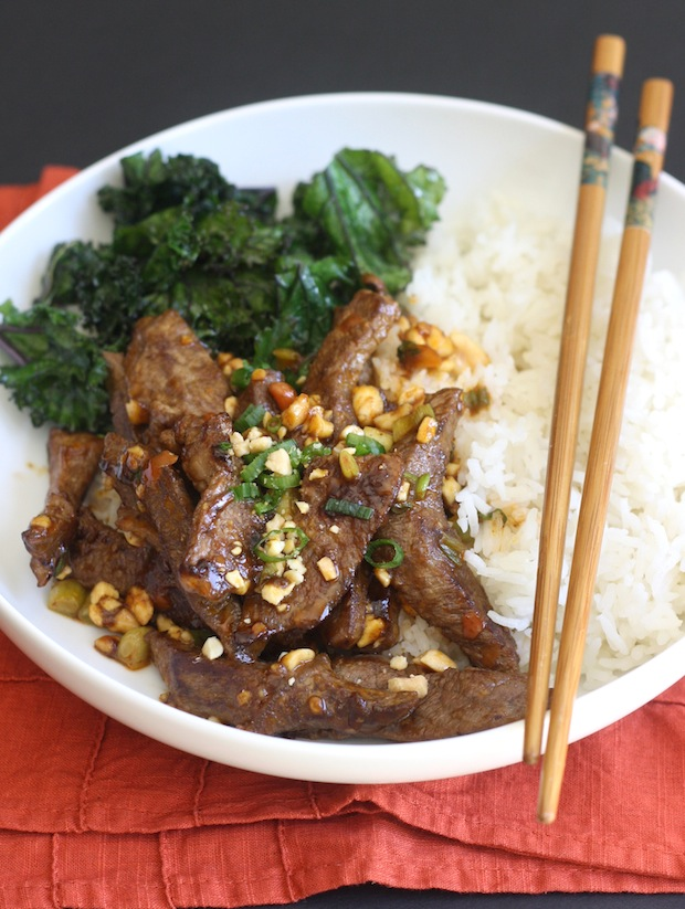 Sichuan Beef Stir-Fry with Chili Bean Sauce recipe by SeasonWithSpice.com