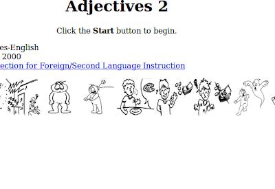 Elige los adjetivos correctos.-Inglés fácil para primaria