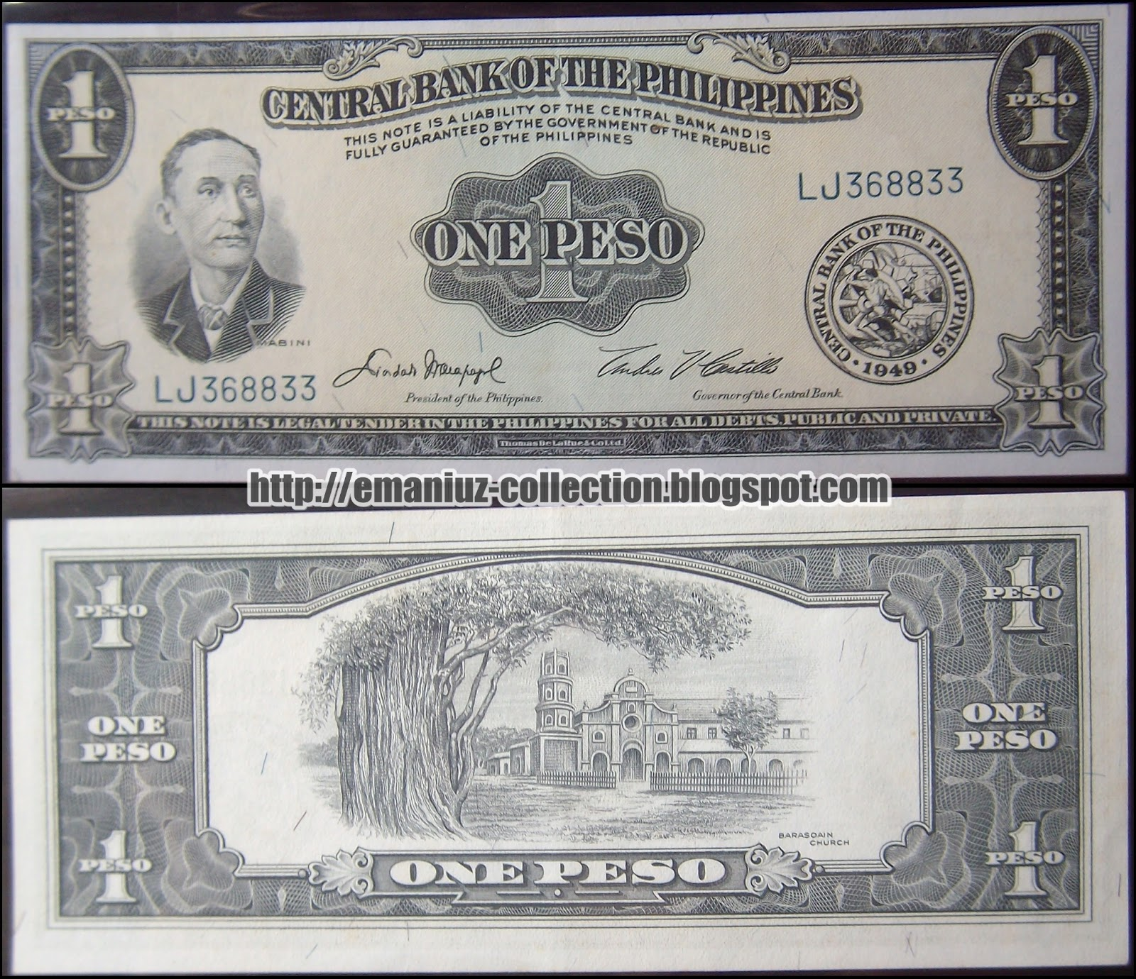 Central Bank Of The Philippines: Philippines P-133