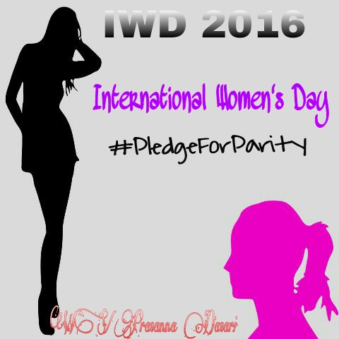 Pledge For Parity - International Women's Day 2016 Spl.