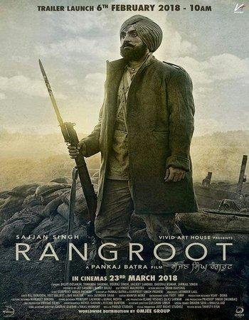 Sajjan Singh Rangroot (2018) Punjabi 720p HDRip