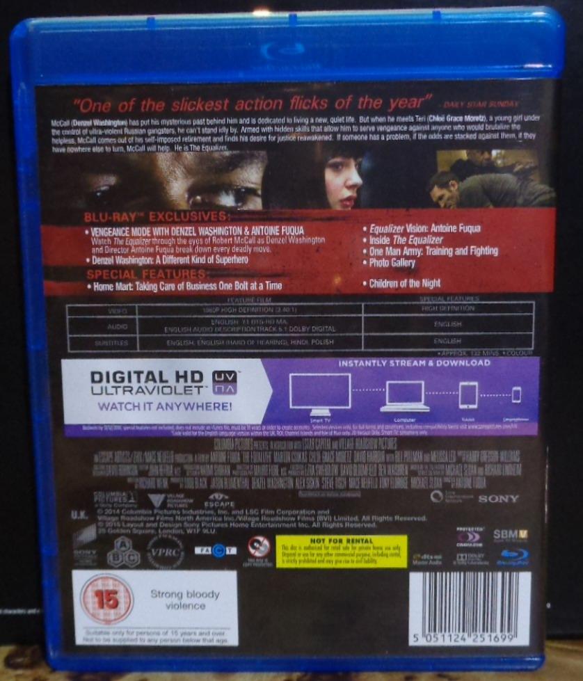 Movies On Dvd And Blu Ray Denzel Washington