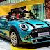 This is the look of the MINI Convertible The display at Thailand