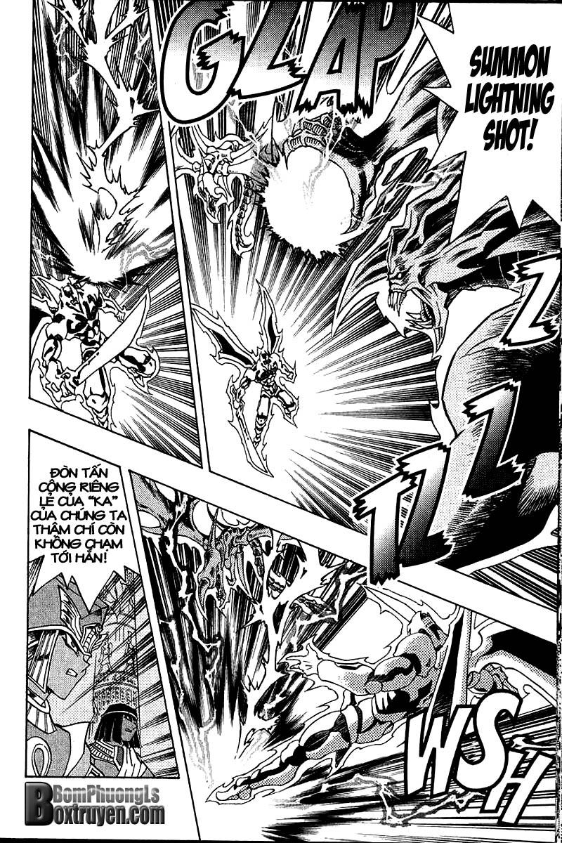 YUGI-OH! chap 317 - sự trở lại của các vị tư tế trang 16