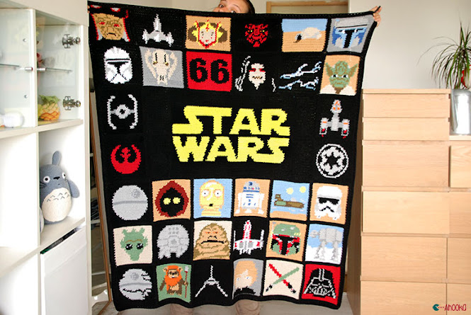 Star Wars Crochet Blanket