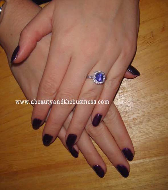 Madam Glam Deep Dark Purple Swatch and gel polish tutorial, madam glam, madam glam deep dark purple, madam glam gel polish, gel polish , youtube tutorial