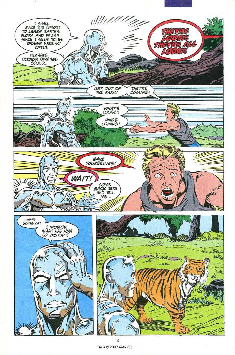 Read online Silver Surfer (1987) comic -  Issue #54 - 11