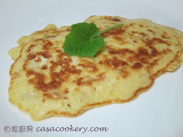 自家廚房 CasaCookery: 薯蓉蛋餅