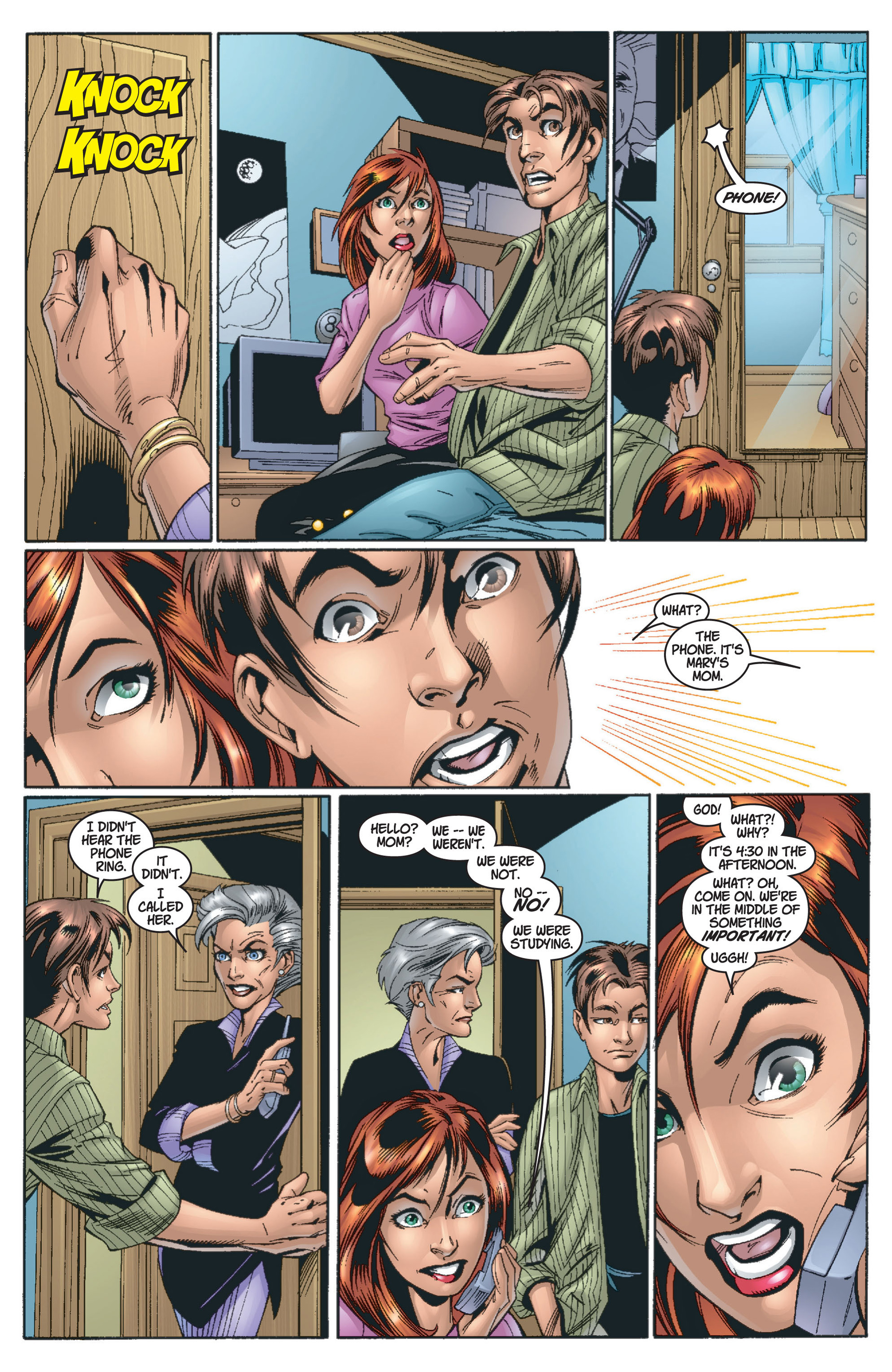 Read online Ultimate Spider-Man (2000) comic -  Issue #13 - 19