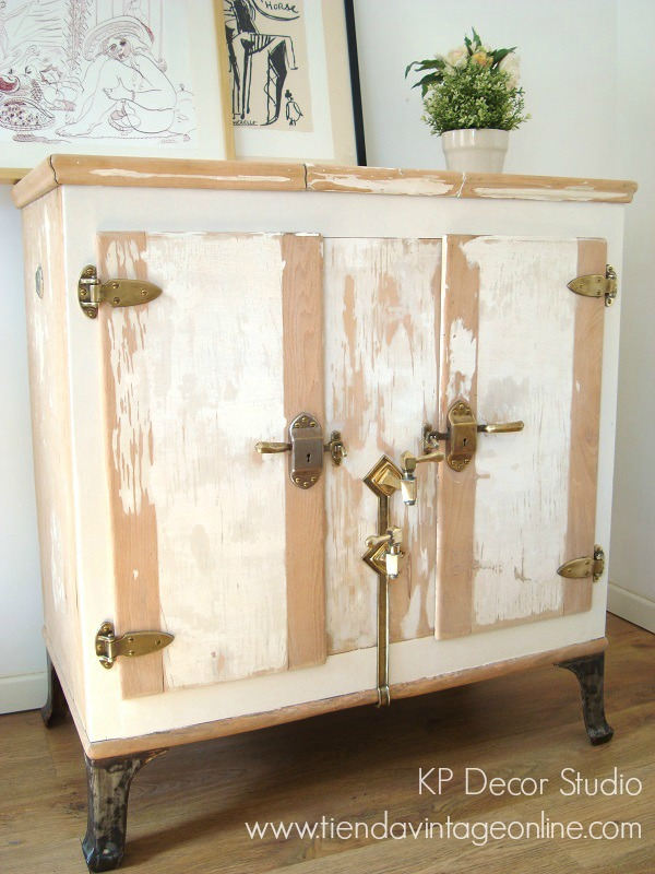 KP Tienda Vintage Online Muebles vintage madera decapada
