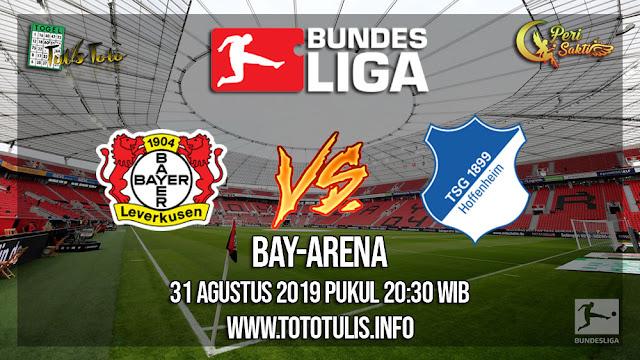 Prediksi Bayer Leverkusen vs Hoffenheim 31 Agustus 2019