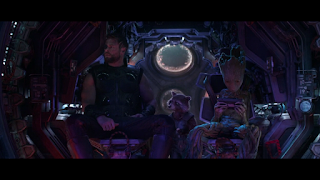 Avengers 4 latest news - Thor, Groot and Rocket going to Nidavellir in a still from Infinity War