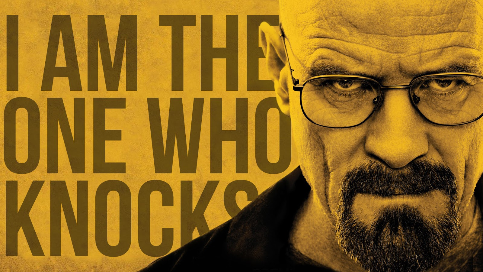 dlaczego warto obejrzeć breaking bad, netflix, netflix and chill, serial, najlepszy serial, breaking bad poster, plakat breaking bad, i am the one who knocks, walter white