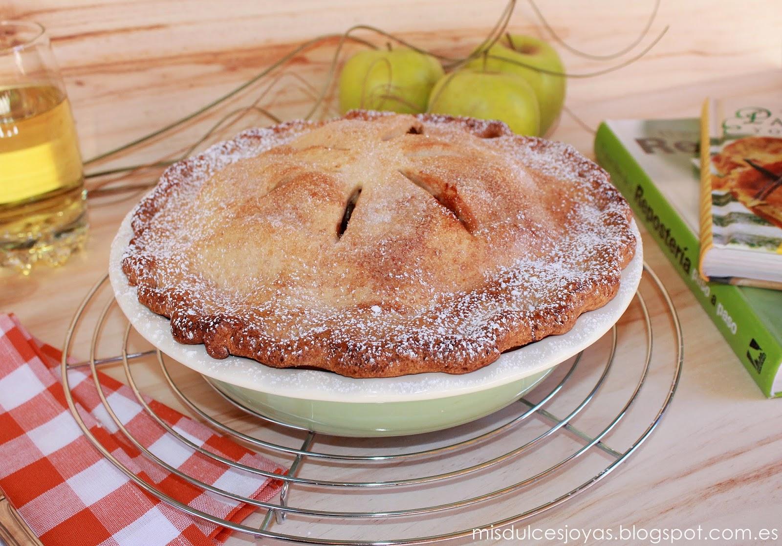 American Apple Pie (Pastel de Manzana Americano) - Reto \
