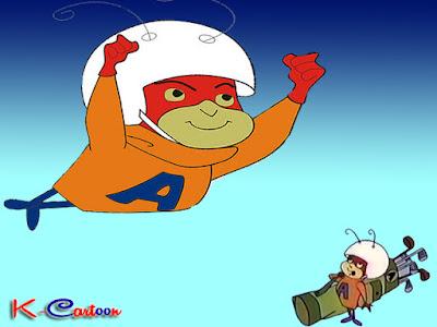 gambar kartun atom ant