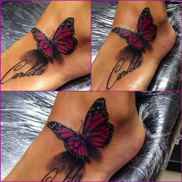 3D Tattoos on Leg