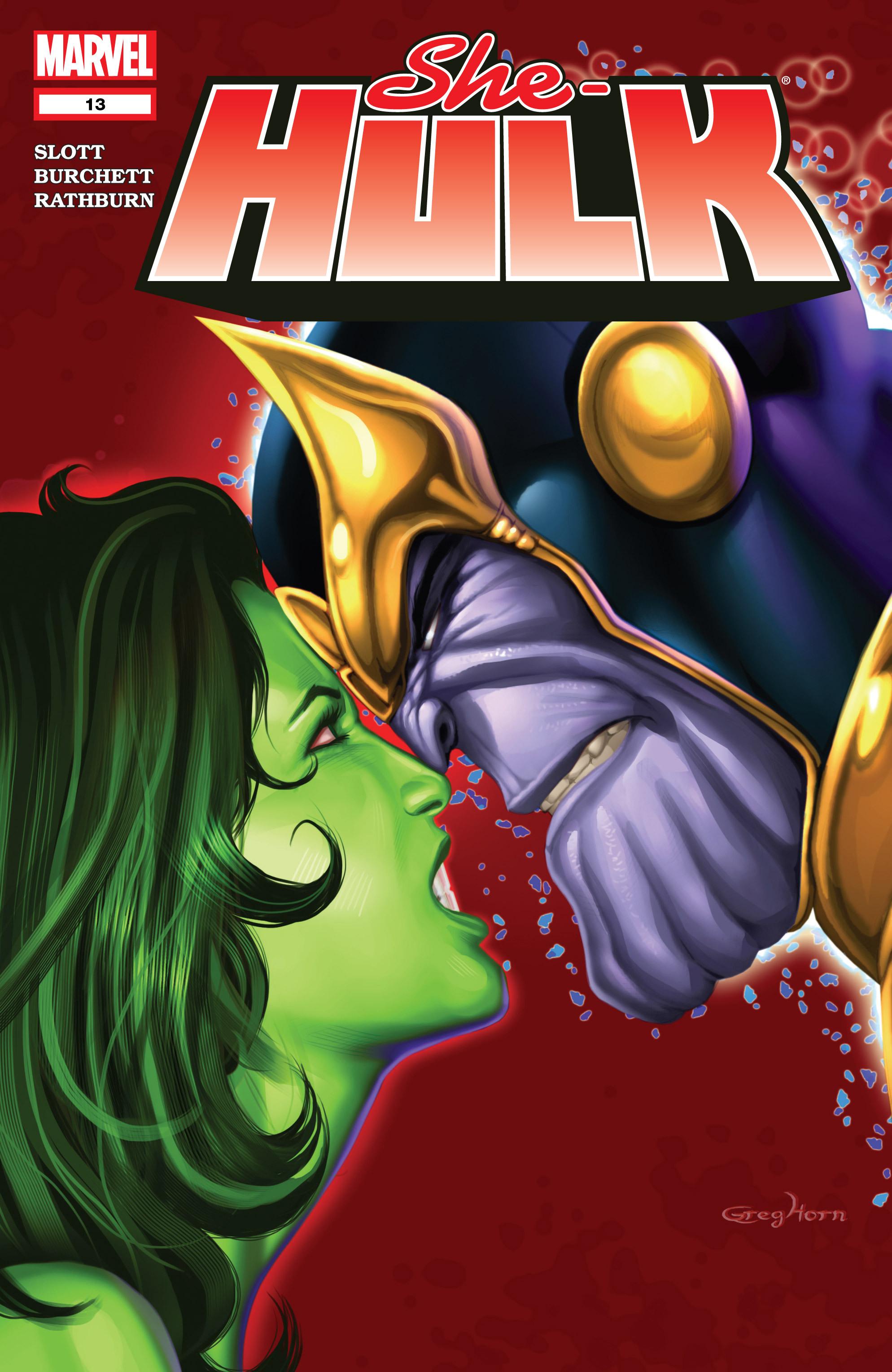 Read online She-Hulk (2005) comic -  Issue #13 - 1