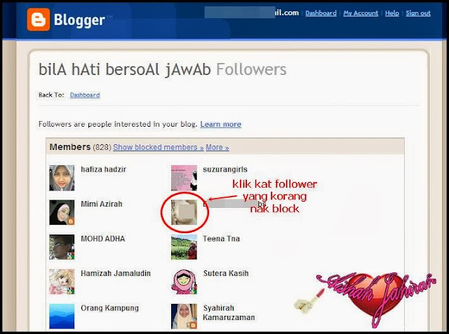 Cara Remove Follower