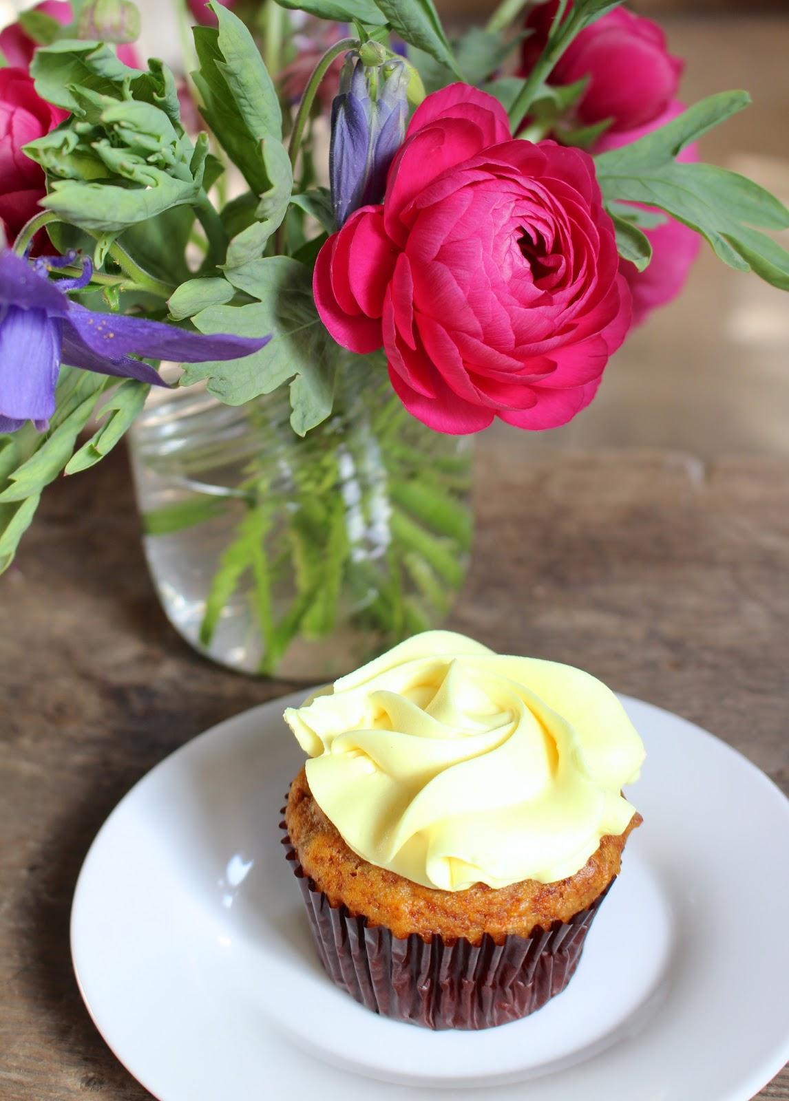 Vegan cupcake Babette Bakery