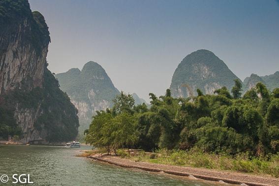 Imagenes de China. Crucero por el rio Li
