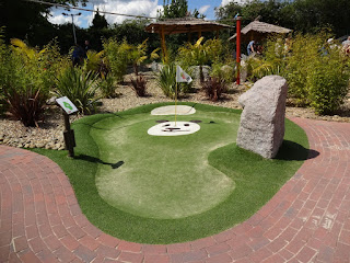 Congo Rapids Adventure Golf at Ufford Park Hotel