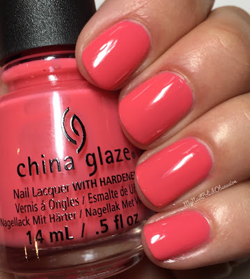 China Glaze House Of Colour, Spring 2016; About Layin' Out