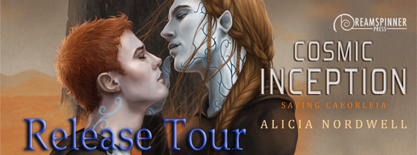 Blog Tour: Exclusive Excerpt & Giveaway Alicia Nordwell - Cosmic Inception