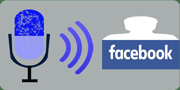 كيفية, ارسال, تعليقات, صوتية, voice , talk, comment , facebook