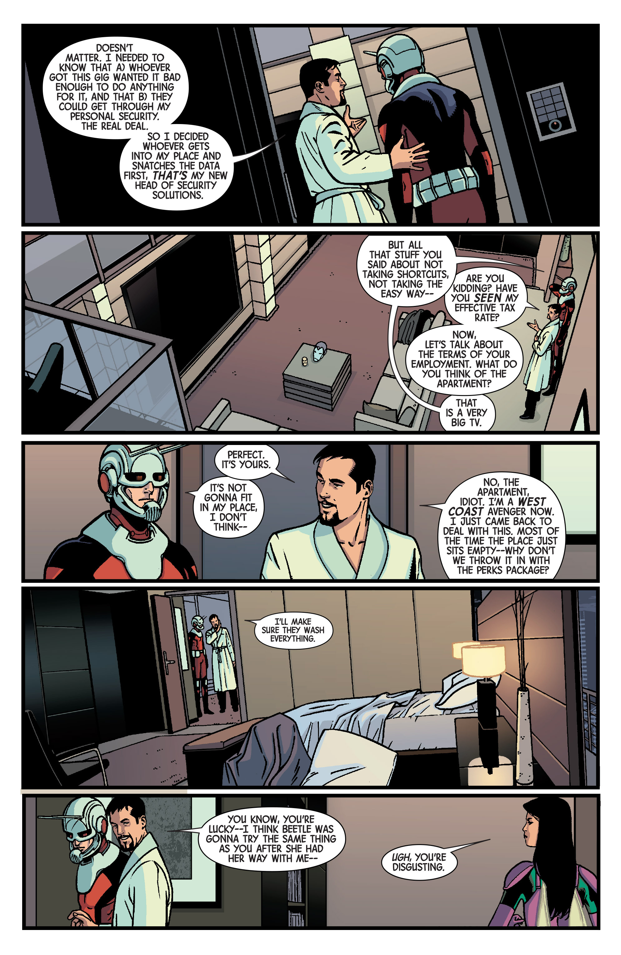 Read online Ant-Man comic -  Issue #1 - 26