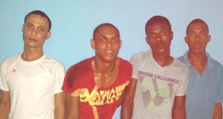 Apresan cuatro acusados de asaltos en SDE
