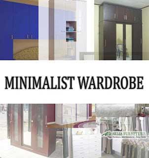 Model dan desain dari lemari pakaian minimalis