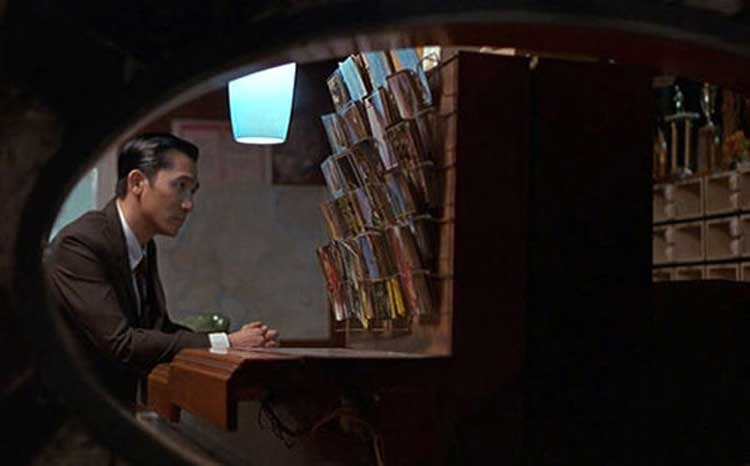 Mr. Chow (Tony Leung) struggles with his lost love in In the Mood for Love.