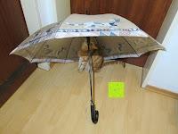 """Erfahrungsbericht: VON LILIENFELD Regenschirm Automatik Rosina Wachtmeister: """"Brunello"""""""