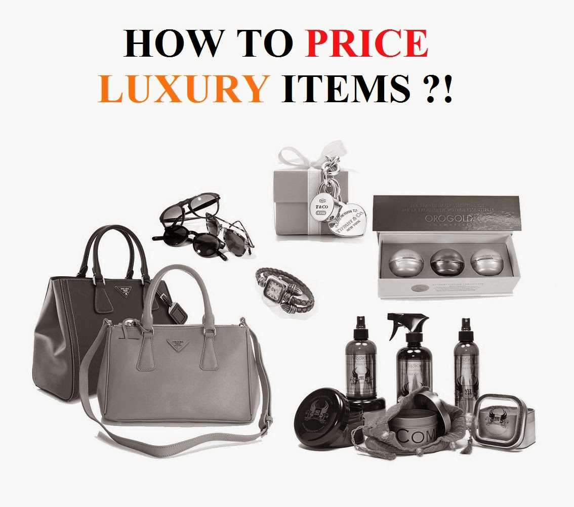 Luxry items pricing marketing
