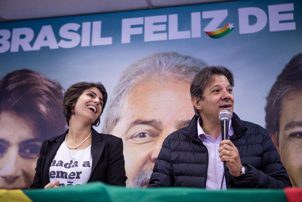 Fernando Haddad representa Lula nas eleições de 2018