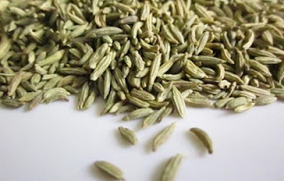 a spice called saunf or fennel