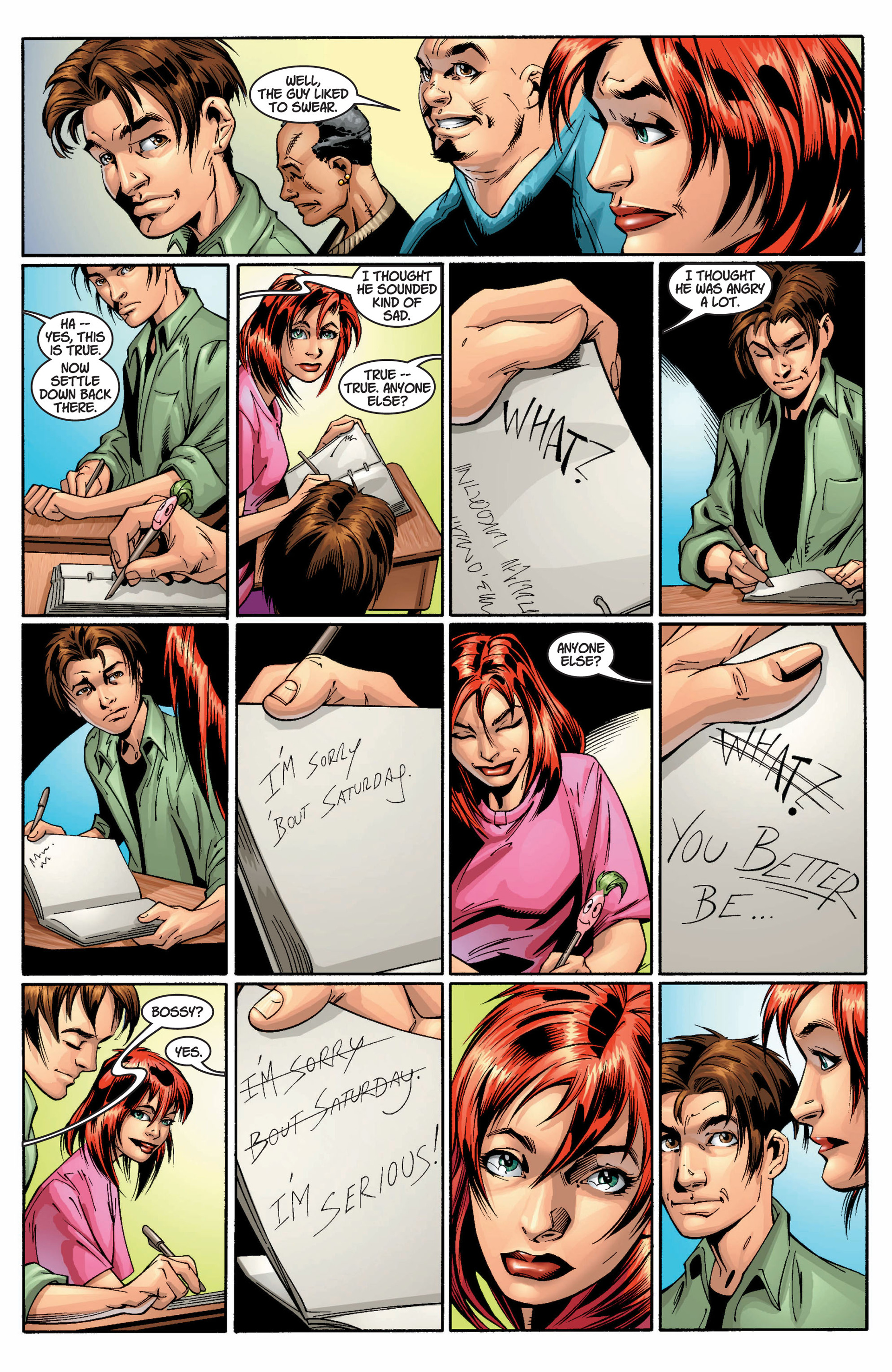 Read online Ultimate Spider-Man (2000) comic -  Issue #10 - 21