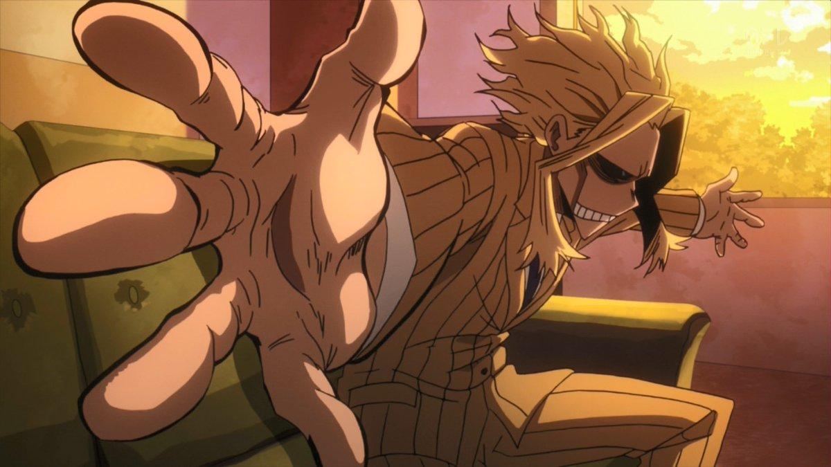 アニメ「ヒロアカ2」33話感想:デク(緑谷少年)に隠してるオールマイトの秘密って・・・?