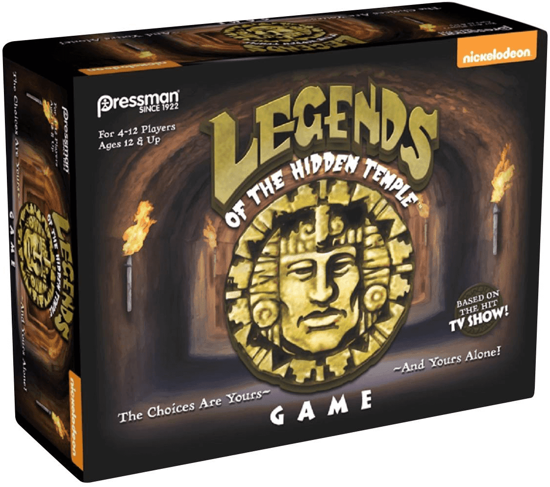 Produced by Pressman Toy Corporation the third largest game manufacturer in the United States the Legends of the Hidden Temple board game is available to