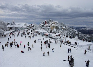 tourist destination in winter