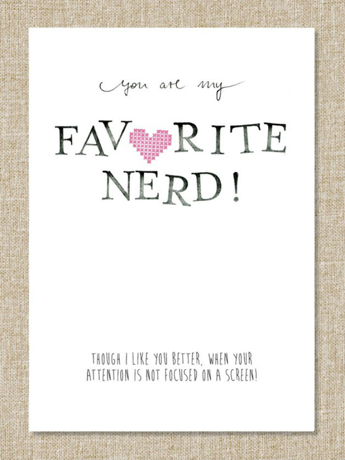 You are my favorite Nerd